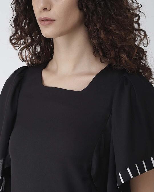 Shop Women Black Solid Top