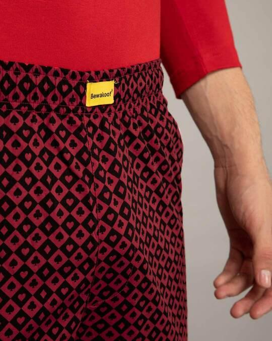 Shop Suits Harlequin All Over Printed Pyjama