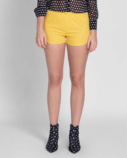 Shop Happy Yellow Boxer-Back