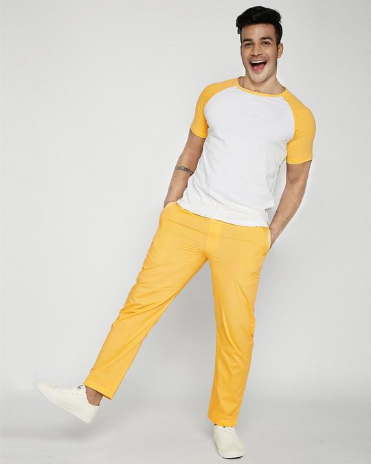 Shop Happy Yellow Pyjama-Full