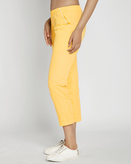 Shop Happy Yellow Pyjama-Back