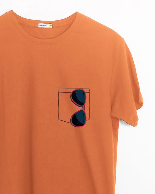 Shop Sunglasses Half Sleeve T-Shirt-Front