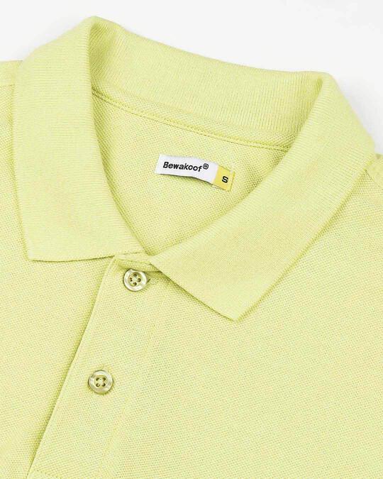 Shop Sunny Lime  Pique Polo