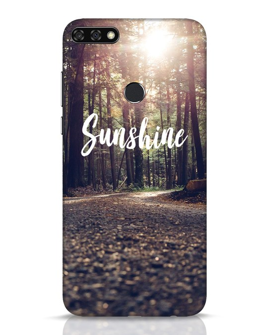 Shop Sunshine Huawei Honor 7C Mobile Cover-Front