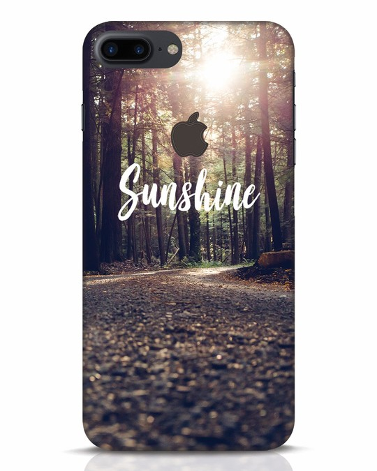 Shop Sunshine iPhone 7 Plus Logo Cut Mobile Cover-Front
