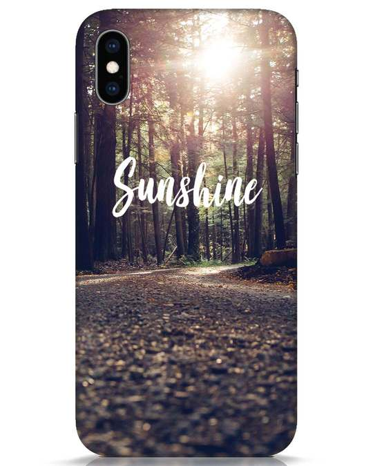 Shop Sunshine iPhone XS Mobile Cover-Front