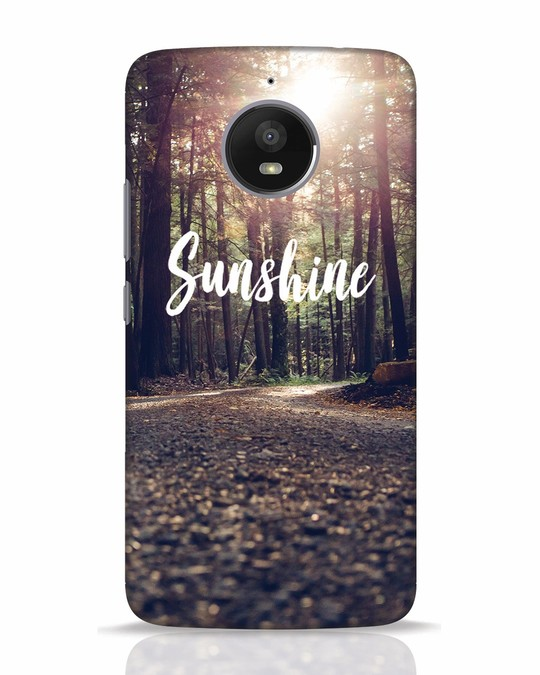 Shop Sunshine Moto E4 Plus Mobile Cover-Front