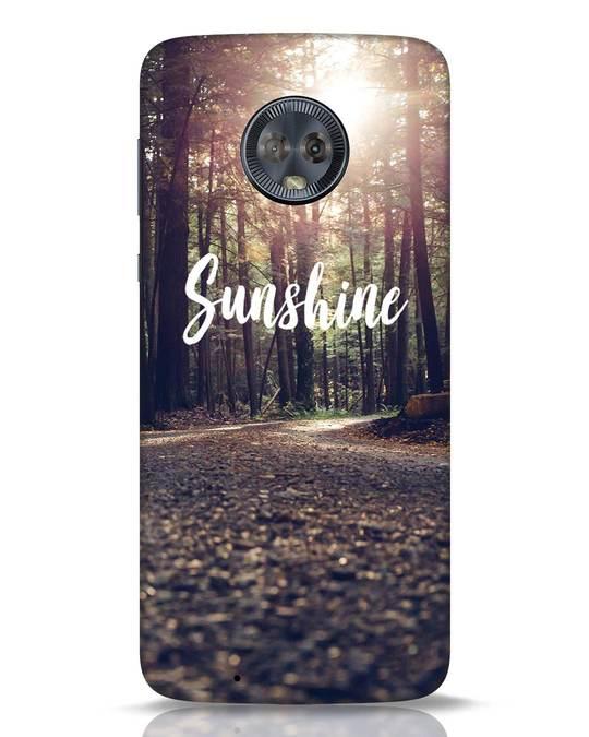 Shop Sunshine Moto G6 Mobile Cover-Front