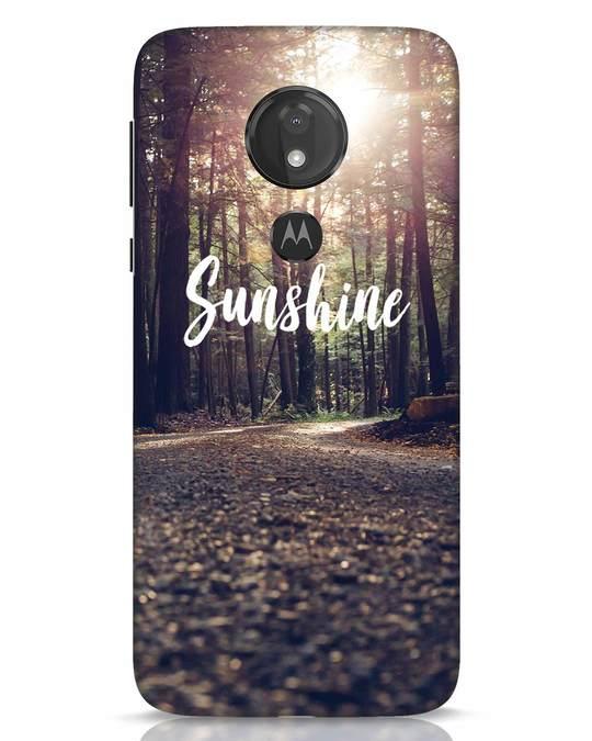 Shop Sunshine Moto G7 Power Mobile Cover-Front