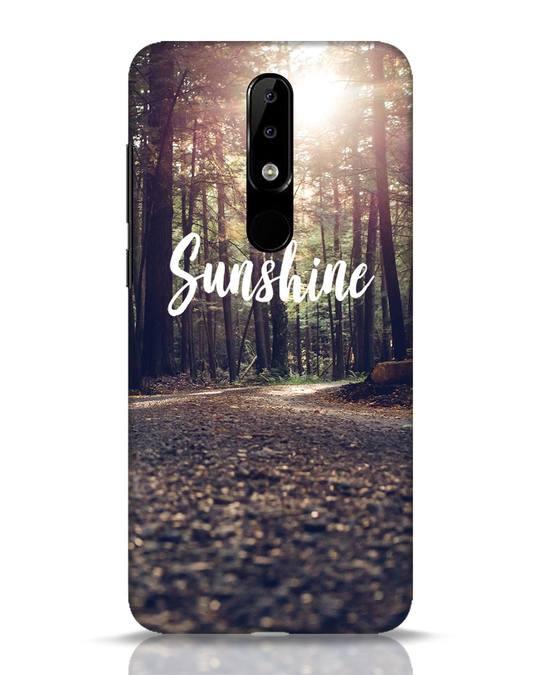 Shop Sunshine Nokia 5.1 Plus Mobile Cover-Front
