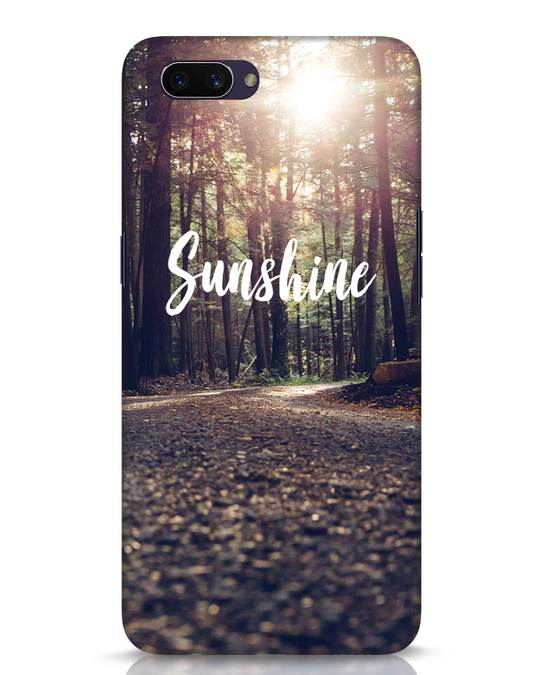 Shop Sunshine Oppo A3S Mobile Cover-Front
