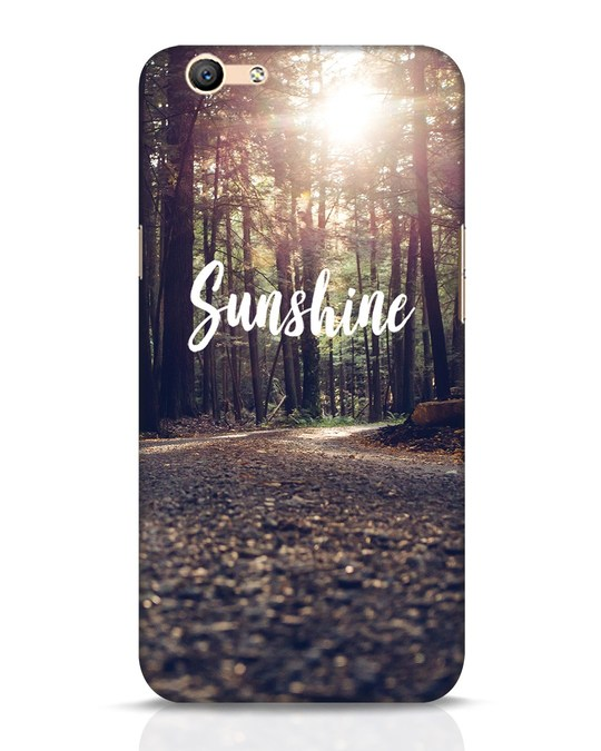Shop Sunshine Oppo F1s Mobile Cover-Front