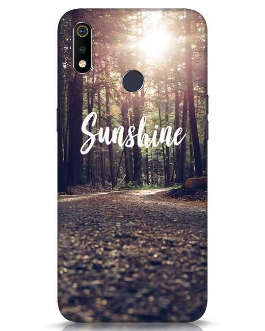 Shop Sunshine Realme 3i Mobile Cover-Front