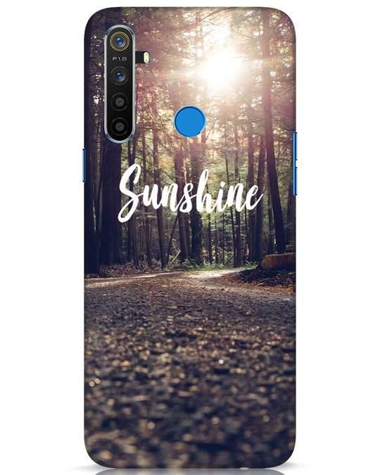 Shop Sunshine Realme 5 Mobile Cover-Front