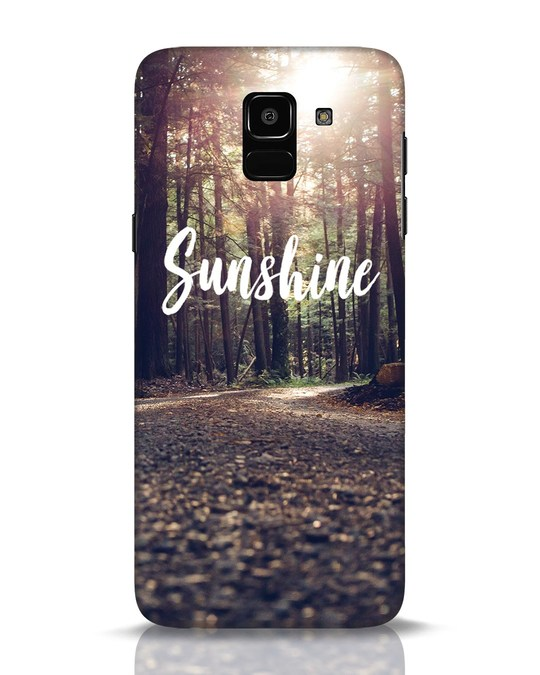 Shop Sunshine Samsung Galaxy J6 Mobile Cover-Front