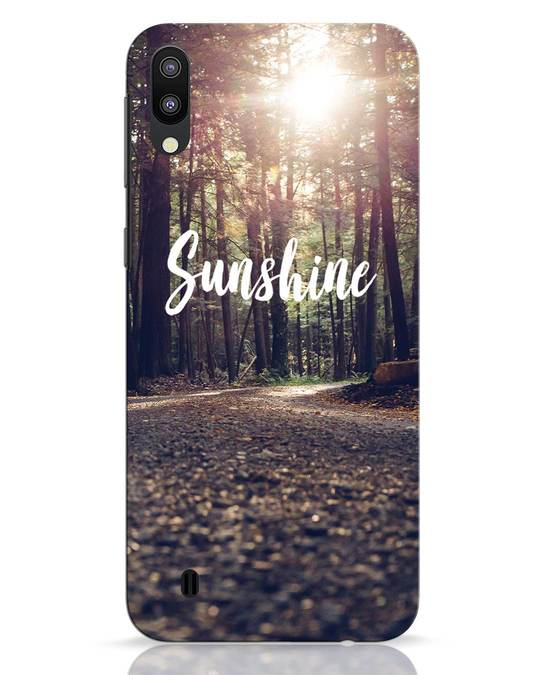 Shop Sunshine Samsung Galaxy M10 Mobile Cover-Front