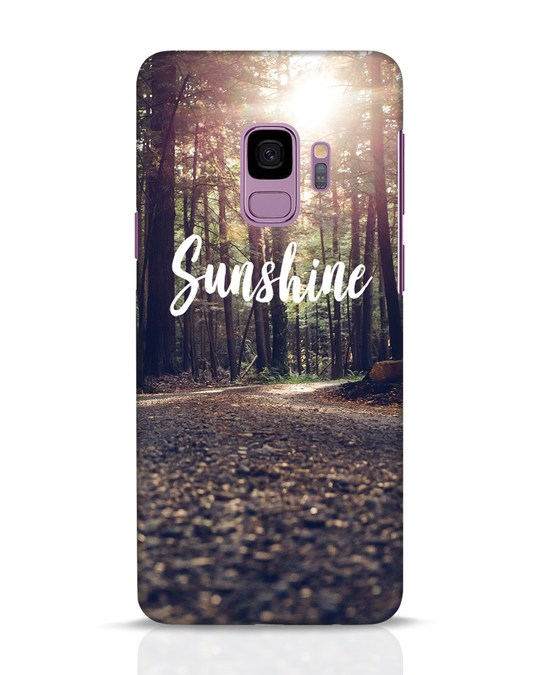 Shop Sunshine Samsung Galaxy S9 Mobile Cover-Front