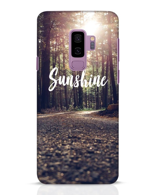 Shop Sunshine Samsung Galaxy S9 Plus Mobile Cover-Front