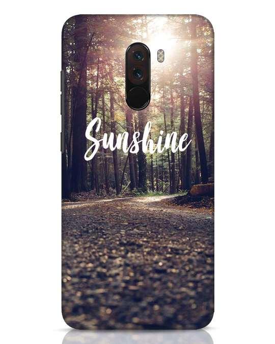 Shop Sunshine Xiaomi POCO F1 Mobile Cover-Front