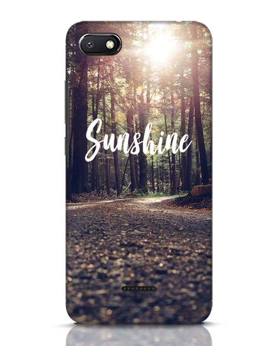 Shop Sunshine Xiaomi Redmi 6A Mobile Cover-Front