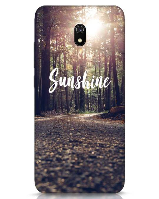 Shop Sunshine Xiaomi Redmi 8A Mobile Cover-Front