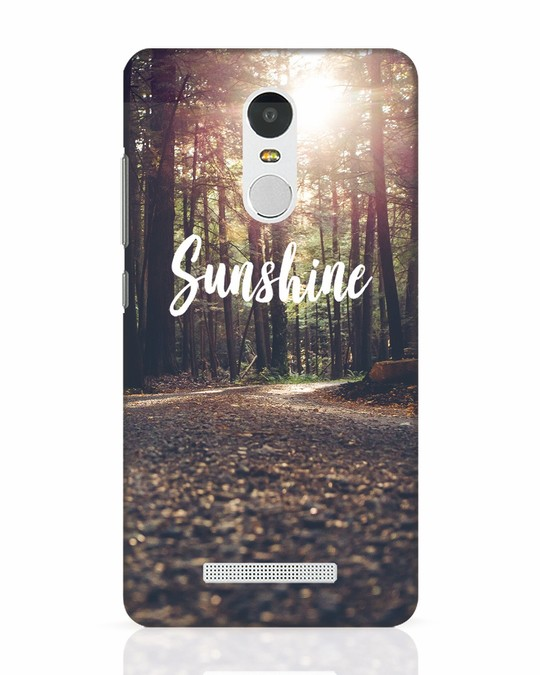 Shop Sunshine Xiaomi Redmi Note 3 Mobile Cover-Front