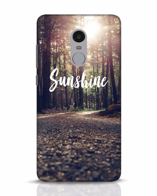 Shop Sunshine Xiaomi Redmi Note 4 Mobile Cover-Front