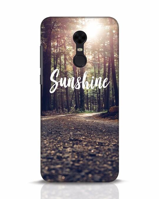 Shop Sunshine Xiaomi Redmi Note 5 Mobile Cover-Front