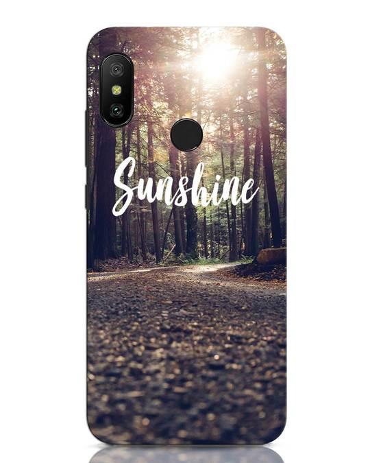 Shop Sunshine Xiaomi Redmi Note 6 Pro Mobile Cover-Front