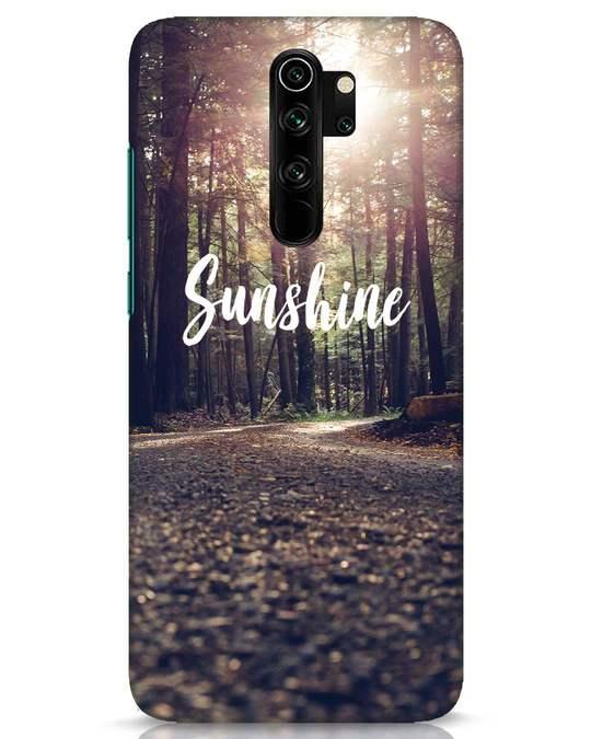 Shop Sunshine Xiaomi Redmi Note 8 Pro Mobile Cover-Front