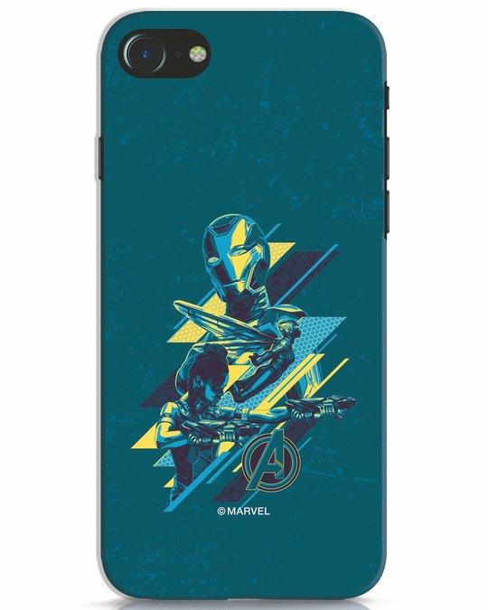 Shop Super Ladies iPhone 7 Mobile Cover (AVL)-Front