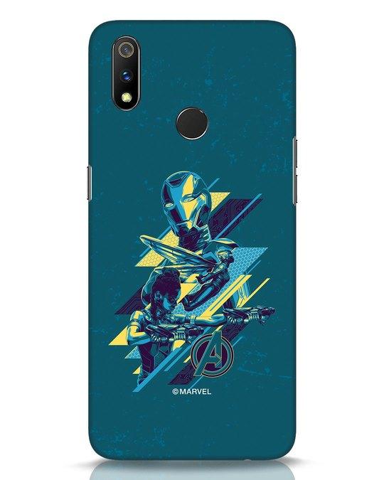Shop Super Ladies Realme 3 Pro Mobile Cover (AVL)-Front