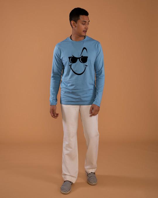 Shop Super Swag Smile Full Sleeve T-Shirt