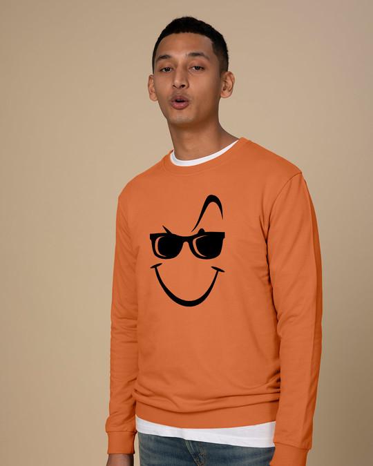 Shop Super Swag Smile Sweatshirt-Back