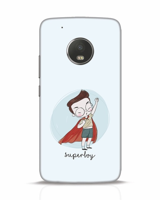 Shop Superboy Moto G5 Plus Mobile Cover-Front