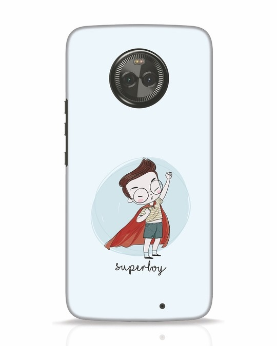 Shop Superboy Moto X4 Mobile Cover-Front