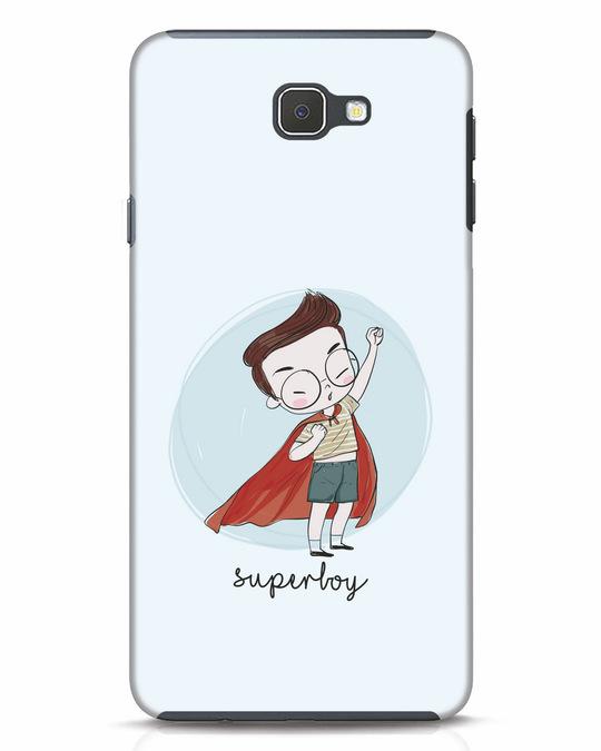 Shop Superboy Samsung Galaxy J7 Prime Mobile Cover-Front