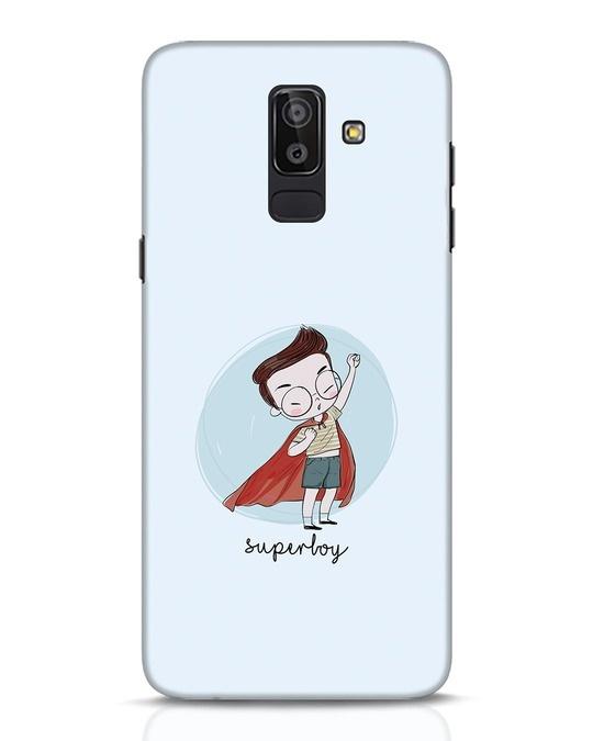 Shop Superboy Samsung Galaxy J8 Mobile Cover-Front