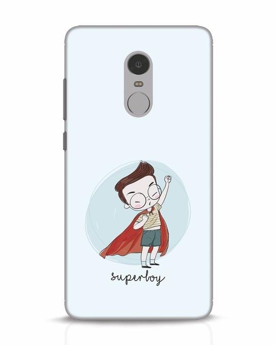 Shop Superboy Xiaomi Redmi Note 4 Mobile Cover-Front