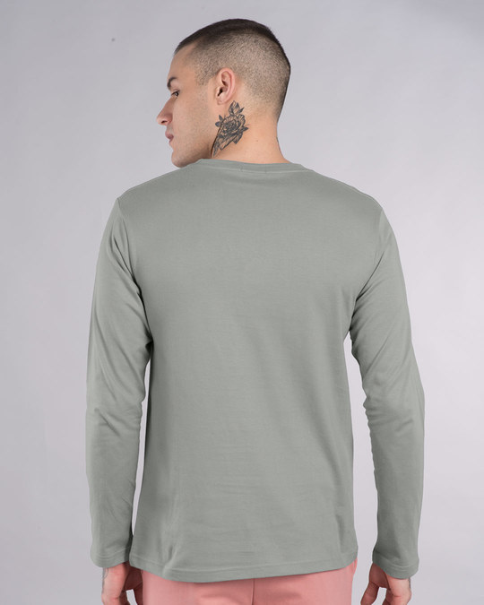 Shop Superman Badge Full Sleeve T-Shirt (SL)-Full
