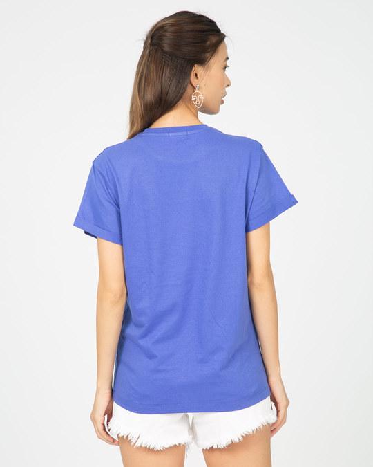 Shop Superman Break The Wall Boyfriend T-Shirt (SML)-Back
