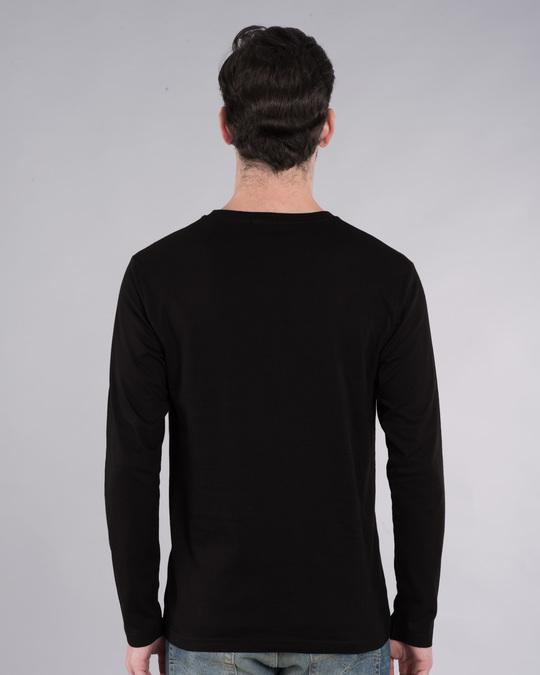 Shop Superman Doodle Full Sleeve T-Shirt (SL)-Back