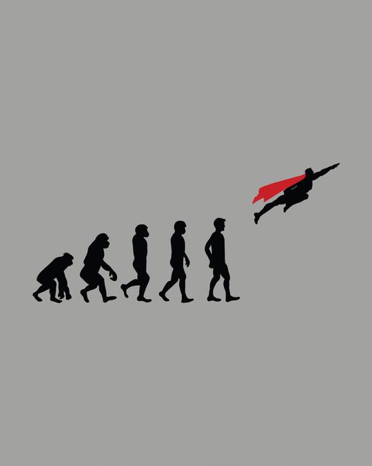 Shop Superman Evolution Full Sleeve T-Shirt (SL)