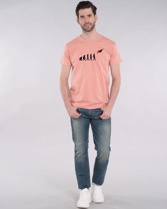 Shop Superman Evolution Half Sleeve T-Shirt (SL)-Design
