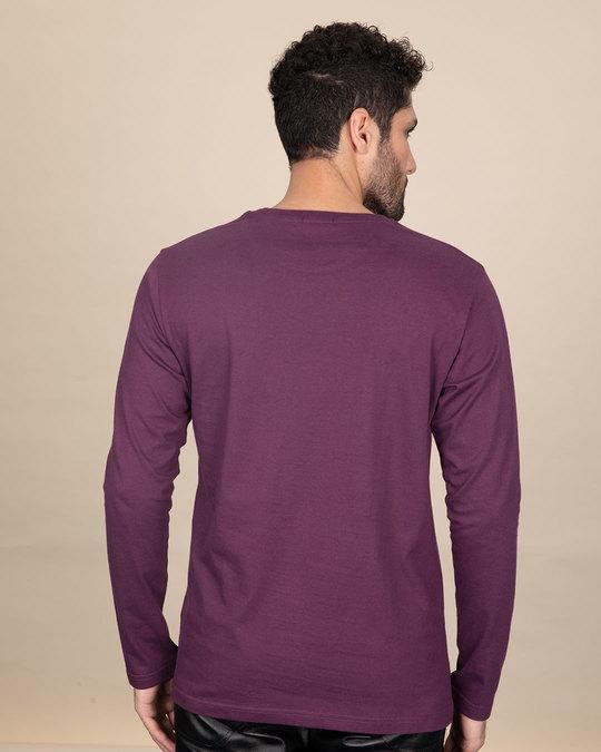 Shop Superman Flight Full Sleeve T-Shirt (SL) (GID)-Back