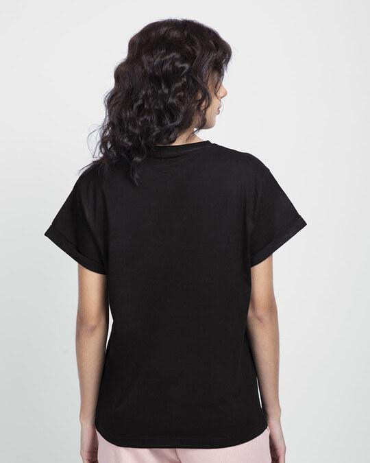 Shop Superman Floral Boyfriend T-Shirts Black (SML)-Design