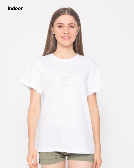 Shop Superman Line Art Sun Active T-Shirt (SL)-Back