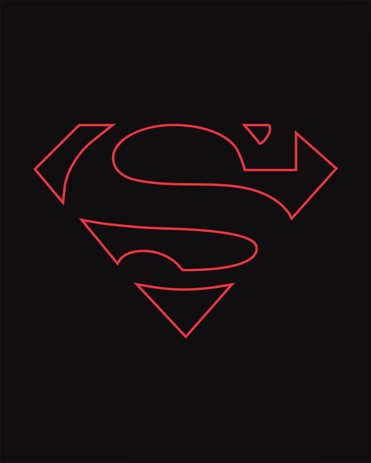 Shop Superman Line Vest (SML)
