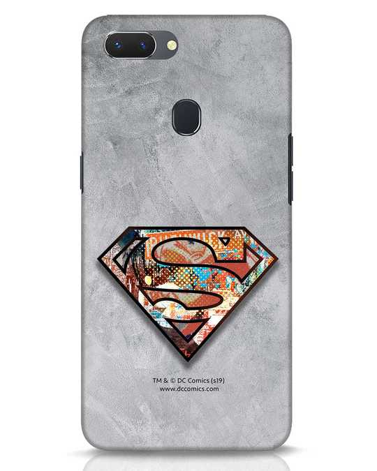 Shop Superman Logo Collage Realme 2 Mobile Cover-Front