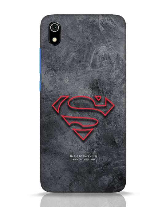 Shop Superman Logo Line Xiaomi Redmi 7A Mobile Cover-Front